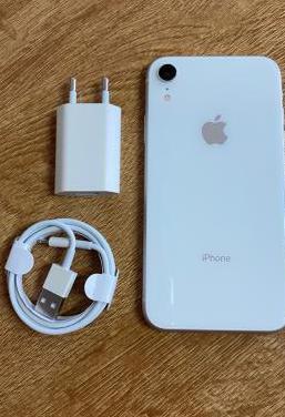 Iphone xr 64gb blanco libre con garantía