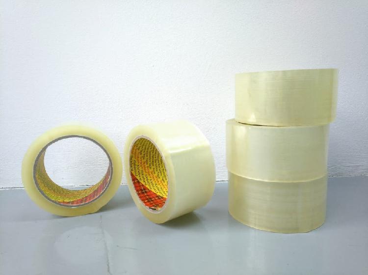 5 rollos cinta transparente 3m (alta calidad)