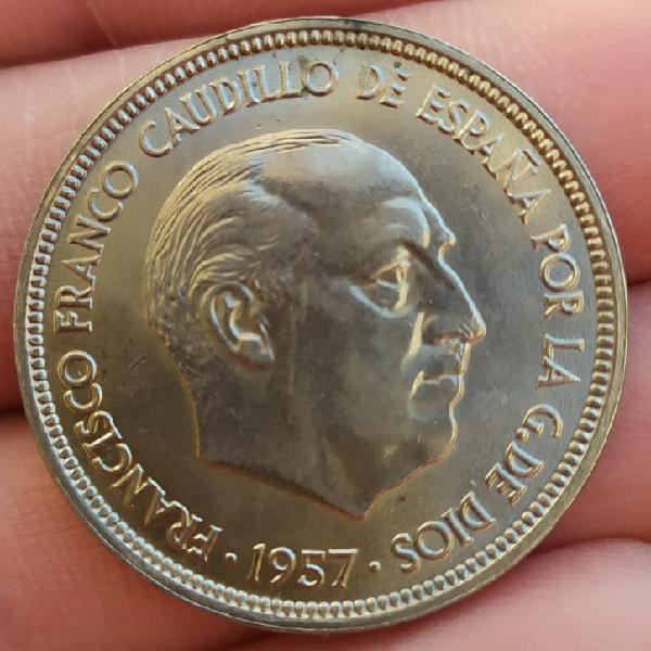 50 pesetas de franco