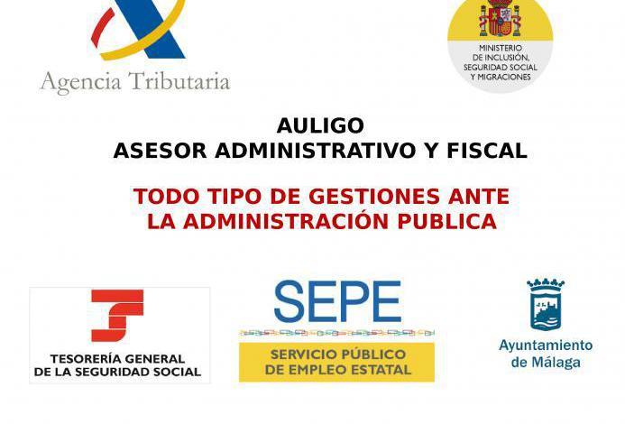 Asesor administrativo fiscal y financiero