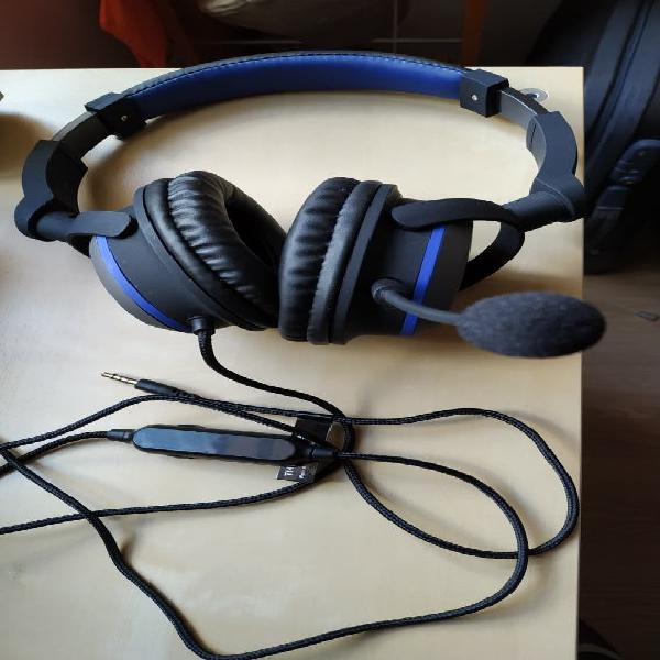 Auriculares gamer con cable korp oxygen