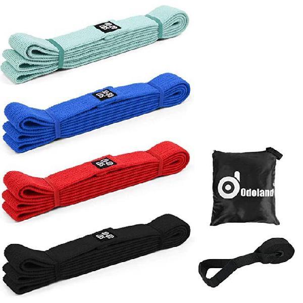 Bandas elasticas fitness gimnasio