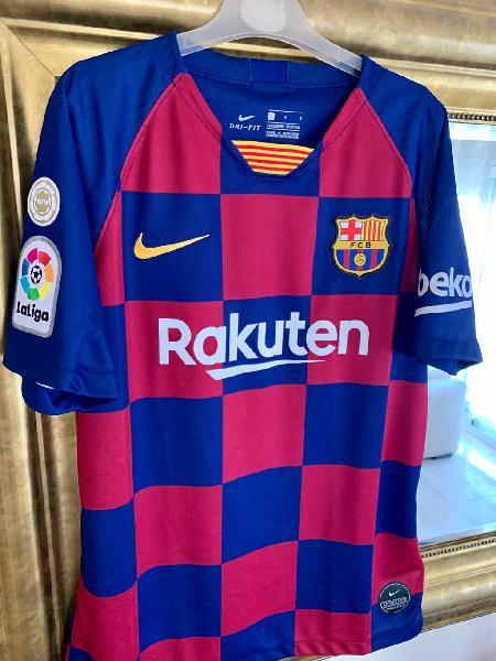Camiseta barça messi oficial para niño l