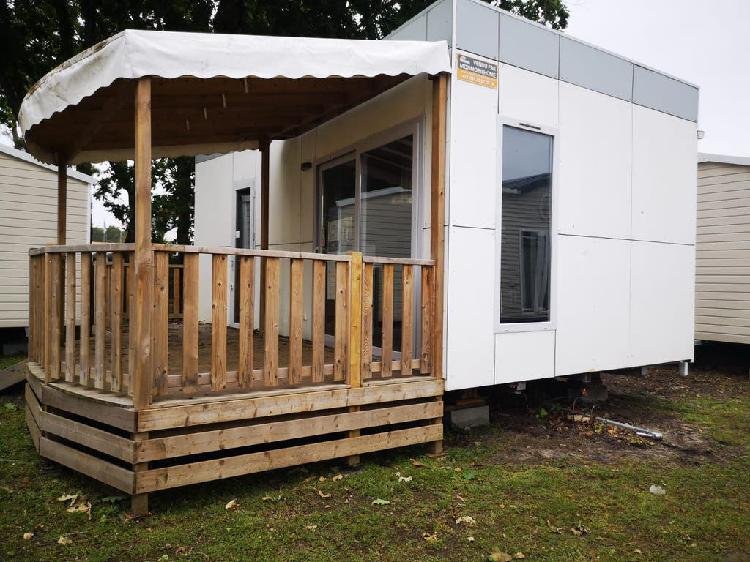 Casa movil estilo moderno seminueva oferta