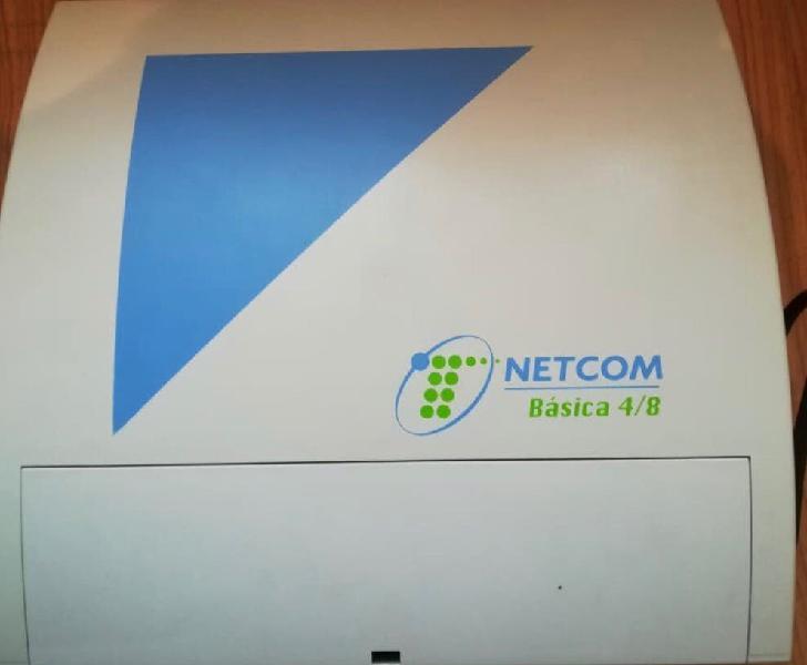 Centralita netcom básica 4/8 + 16 telefonos