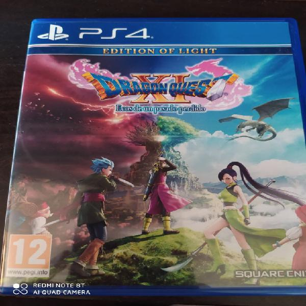 Dragon quest xi edition of light ps4