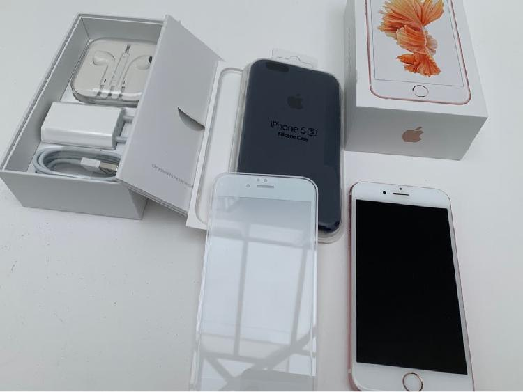 Iphone 6s rose gold, 64gb impecable