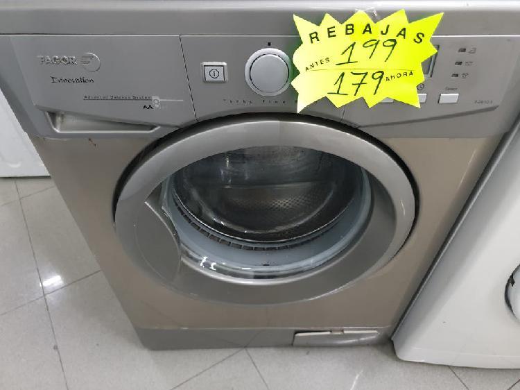 Lavadora fagor 8kg!! garantia!!