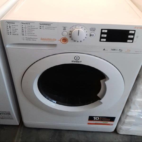 Lavadora secadora indesit 8 kilos