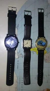 Lote de 3 estupendos relojes seminuevos !!