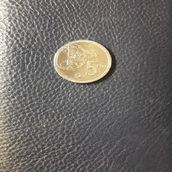 Moneda 5 pesetas mundial 82
