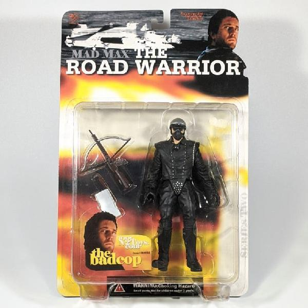 "N2 mad max:the road warrior badcop 6"" figura nueva"