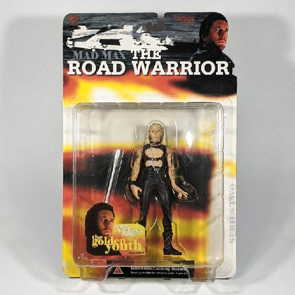"N2 mad max:the road warrior golden youth 6"" nueva"