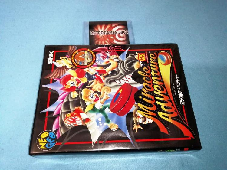 Neo geo aes miracle adventure (spinmaster) snk
