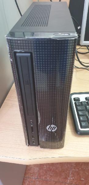 Ordenador hp slim micro atx pequeño pc+ monitor