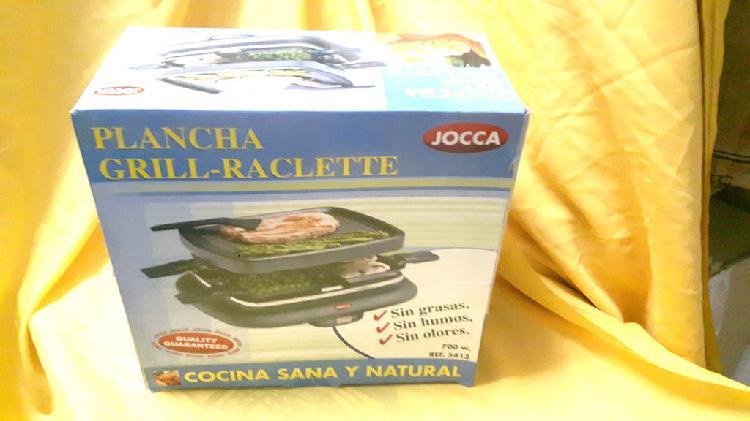 Plancha grill raclette nueva