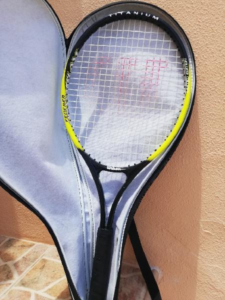 Raquetas de tenis wilson y prime con forro
