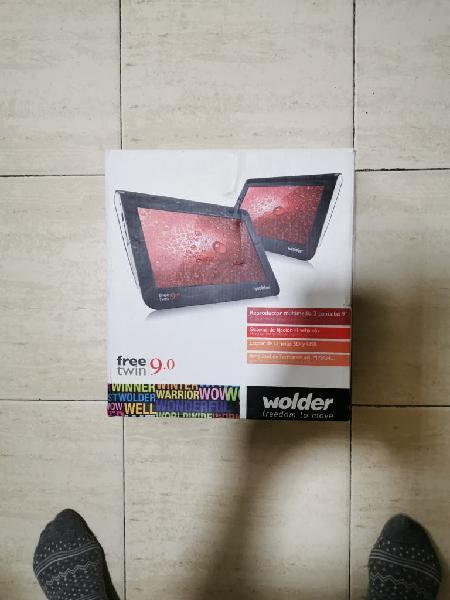Reproductor multimedia 2 pantallas wolder.