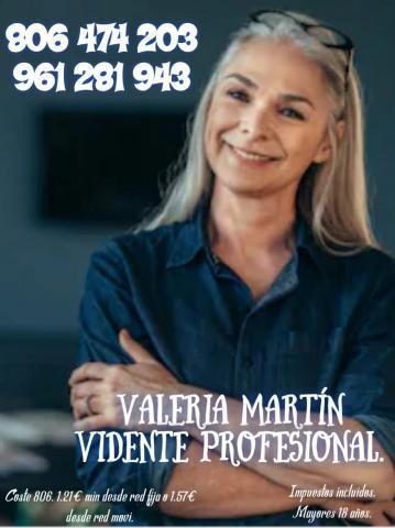 Valeria vidente 806405918, no te defrauda. tu tarot