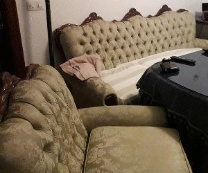 Vendo sofá y dos sillones estilo isabelino.