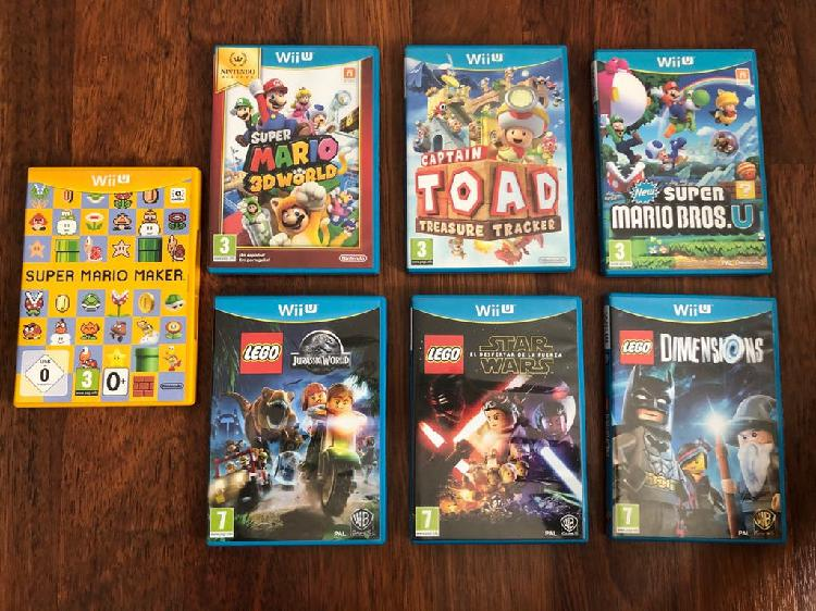 Wii u juegos