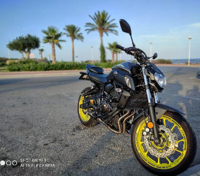 Yamaha mt07 a2 2019