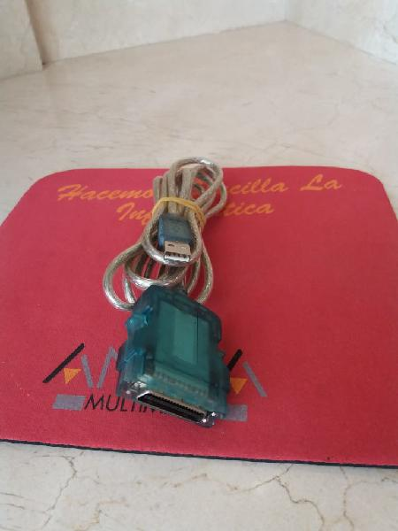 Cable mini scsi / usb de 1.9m