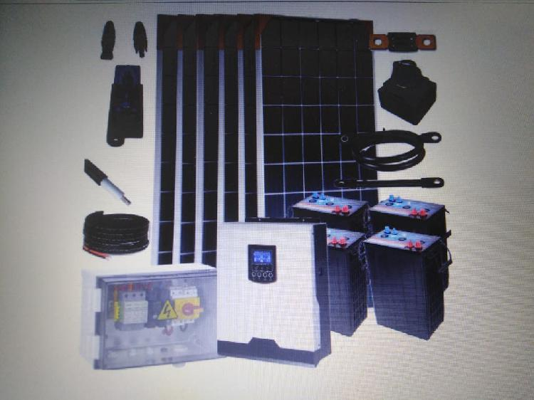 Kit solar 3.0kw, 24v 7.8kw/ei dia