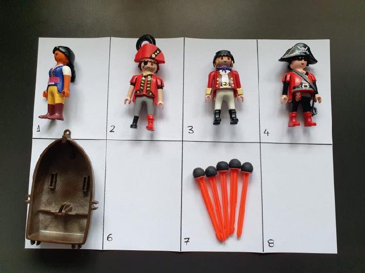 Playmobil piratas lote 2