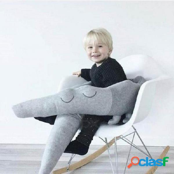 Cama de bebé parachoques 185 cm cama infantil cuna de protección para niños ropa de cama de bebé niños cocodrilo almohada habitación del niño juguete verde