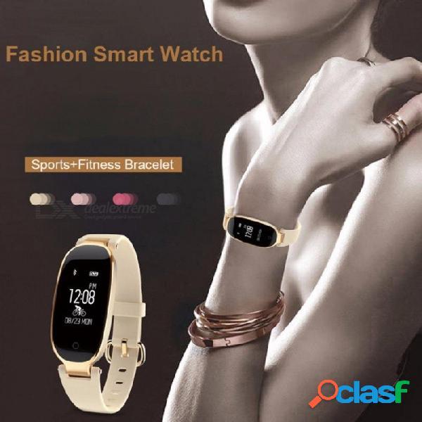 S3 bluetooth reloj inteligente a prueba de agua moda señoras monitor de ritmo cardíaco monitor de fitness smartwatch para android ios