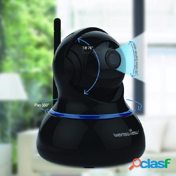 Wansview q3s 2.0mp hd 1080p cámara ip, cámara de seguridad wi-fi ptz con vigilancia en el hogar y vigilancia en interiores con visión bidireccional de visión nocturna / cámara ip 1080p
