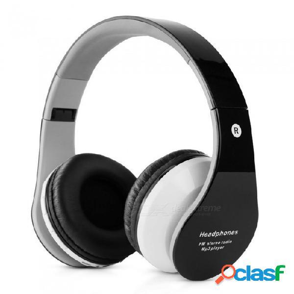 B-01 auriculares inalámbricos bluetooth auricular microteléfono auricular plegable para jugador jugador rojo