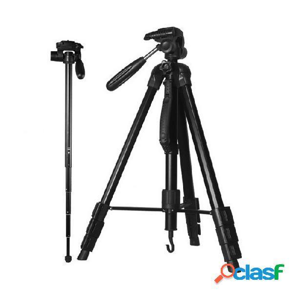 Dg1765 kit de cabeza de bola para trípode kit de cámara de aluminio para cámara canon nikon sony pentax dslr