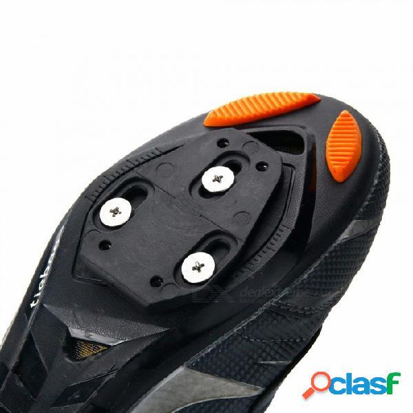 Juego de calas de bicicleta de liberación rápida juego de calas de bicicleta para carretera para speedplay zero, pavimentar / acción ultra ligera, x1, x2 negro