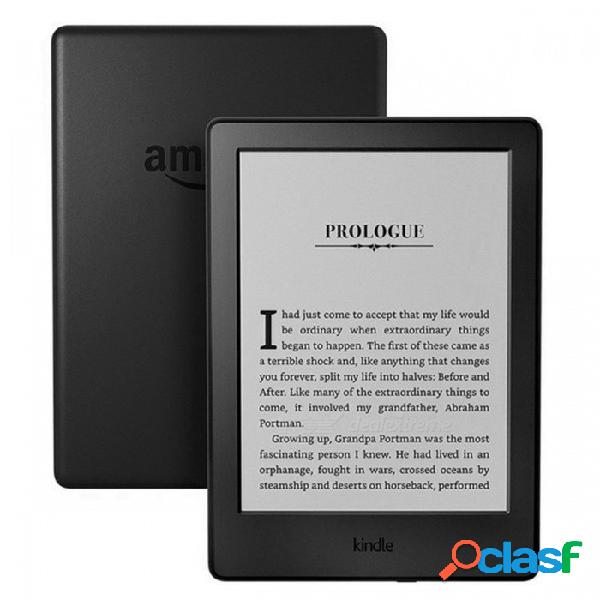 Kindle 8 generación 2016 modelo 6 pulgadas pantalla táctil ebook e-ink reader wifi ereader 800 x 600p resolución solamente lector de libros electrónicos
