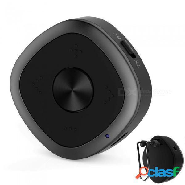 Adaptador de audio inalámbrico de alta fidelidad para el receptor de audio bluetooth jrbco3 para el sistema estéreo de transmisión de música para el hogar del automóvil negro