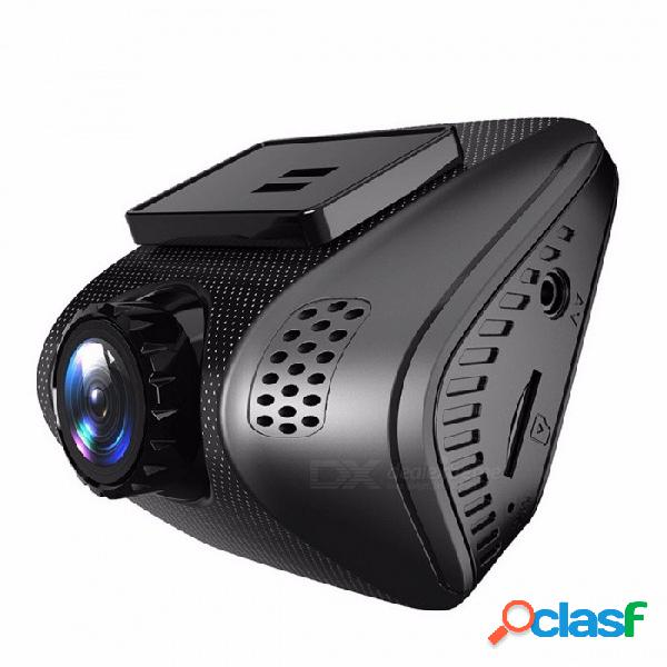 "Mini full hd 1080p dvr de coche 2.0 ""dashcam cámara grabadora de video 170 grados novatek 96655 con g-sensor de visión nocturna monitor de aparcamiento negro"