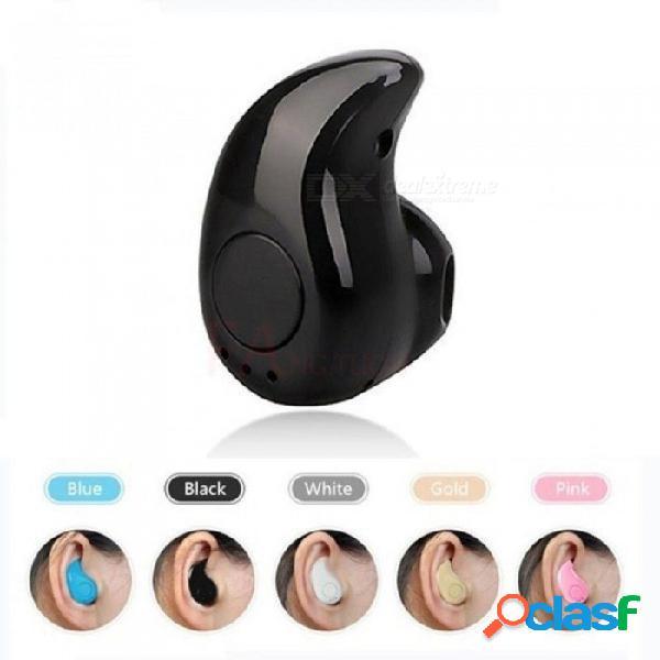 S530 mini auricular bluetooth inalámbrico en los deportes de oído con auriculares auriculares auriculares manos libres mic para iphone 7 negro