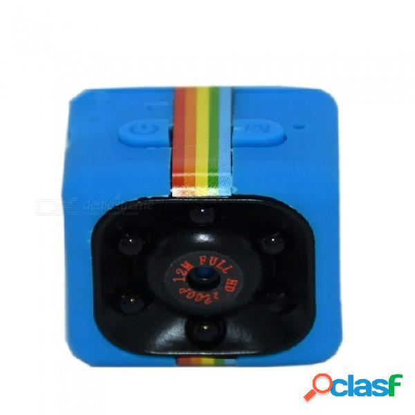 Sq11 mini hd 1080p cámara dv deportiva, videocámara videocámara pequeña con cámara de acción w / visión nocturna negra