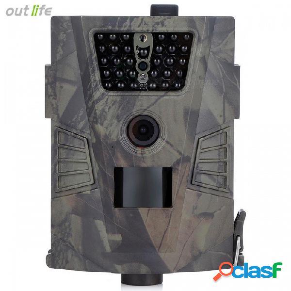 Cámara de caza outlife ht-001, cámara wild 940nm con gprs, visión nocturna 720p para trampas fotográficas de animales ejército verde