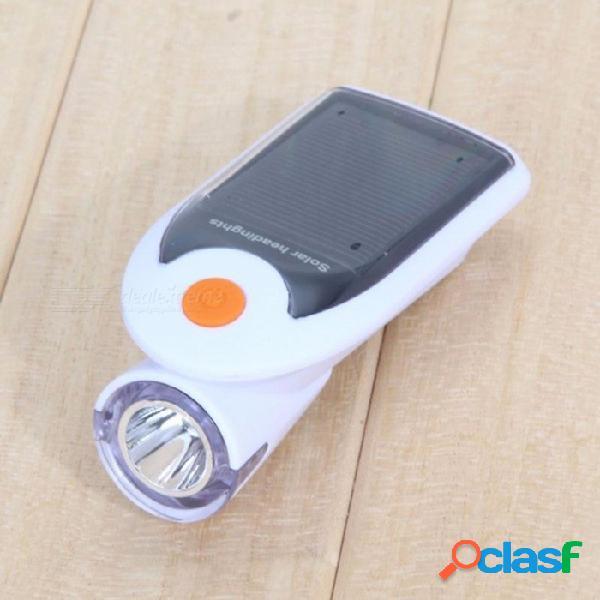 Luces solares para bicicleta led bicicleta frontal luz frontal usb 2.0 faro recargable luces de ciclismo nocturnas portátiles al aire libre