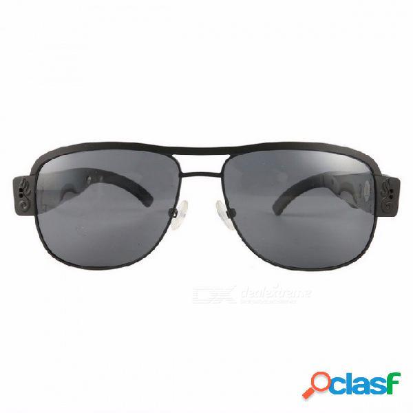 Ultra delgado hd 720p cámara digital grabadora dv gafas inteligentes para deportes al aire libre, gafas de sol gafas de sol videocámara como la imagen