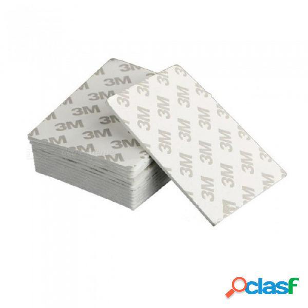 3m adhesivo de doble cara resistente negro del rectángulo del montaje del cojín de la cinta de la espuma para el tamaño 80 * 60 * 1.5mm para 5pcs 5pcs 3m