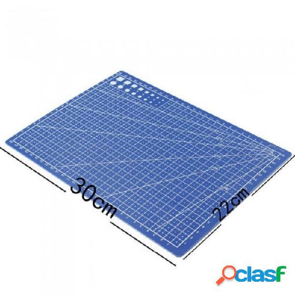 A4 / 30 * 22 cm esteras de corte de coser placa de doble cara diseño grabado tabla de cortar estera herramientas de mano hechas a mano 1 unids 30 * 22 cm