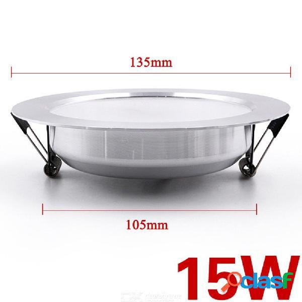 Accesorio de lámpara de techo de downlight 15w led redondo de 135 mm x 105 mm para hotel de sala de estar