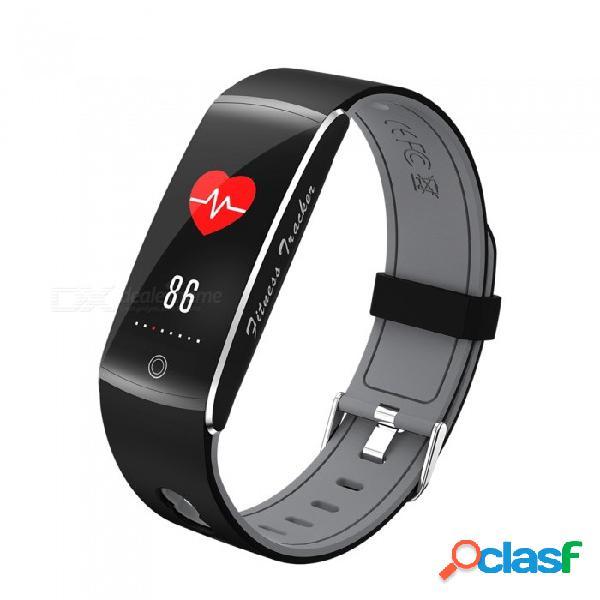 F10 ip68 impermeable pulsera inteligente de 0,96 pulgadas con recordatorio de llamada, monitor de presión arterial de ritmo cardíaco