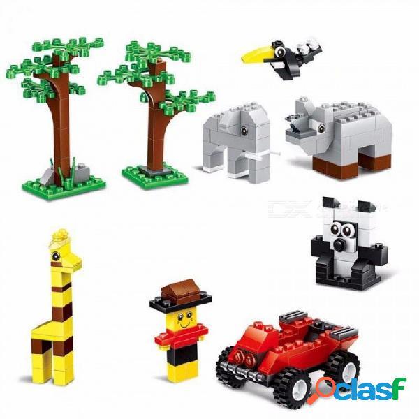 wange 58231 625 piezas bloques de construcción de ladrillo a granel bricolaje creativo ladrillos juguetes para niños juguetes educativos compatibles con lego ladrillos multicolor / s