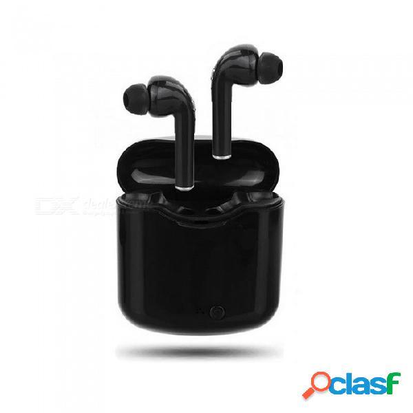 Auriculares bluetooth inalámbricos cwxuan tws, auriculares estéreo para gemelos con caja de cargador para iphone samsung xiaomi huawei