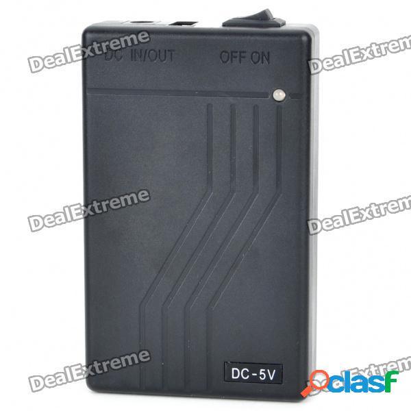 Cargador de batería móvil recargable externo de alta capacidad 4800mah para mini dv / cámara / coche dvr